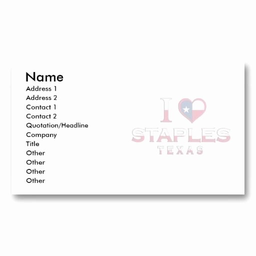 Staples Business Cards Template Download Best Of 7 Best Staples Business Cards Templates Images On Pinterest
