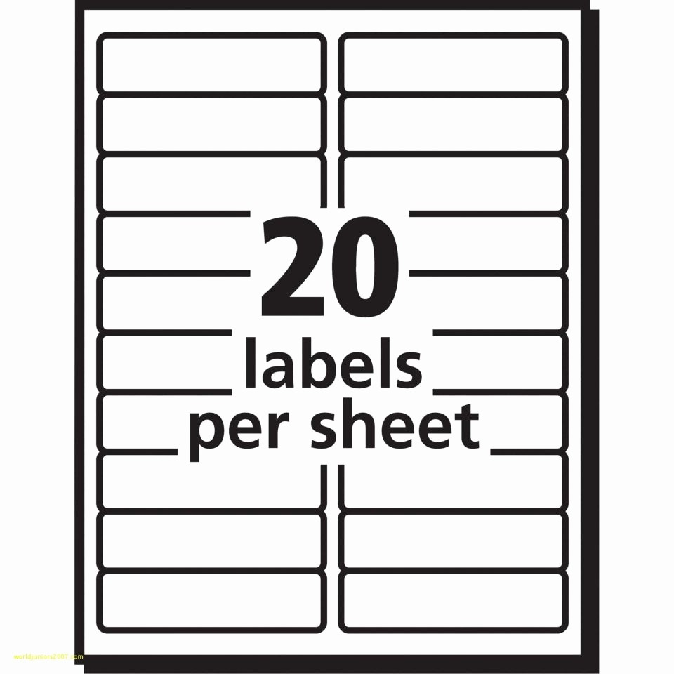 Staples Return Address Labels Template Lovely Labels Per Sheet Template Excel Avery Xerox Address