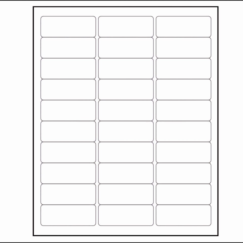 Staples Return Address Labels Template New Labels Per Sheet Template Excel Avery Xerox Address