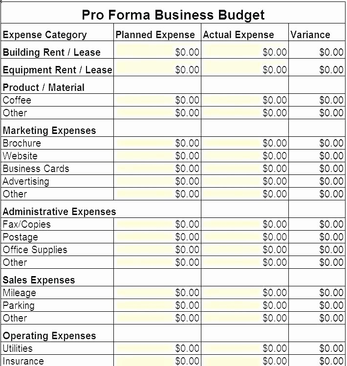 Startup Expenses and Capitalization Spreadsheet Unique Startup Expenses Spreadsheet Business Startup Expenses