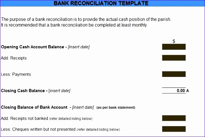 Statement Of Account Template Excel Elegant Account Reconciliation Template Excel Znjus Lovely Bank