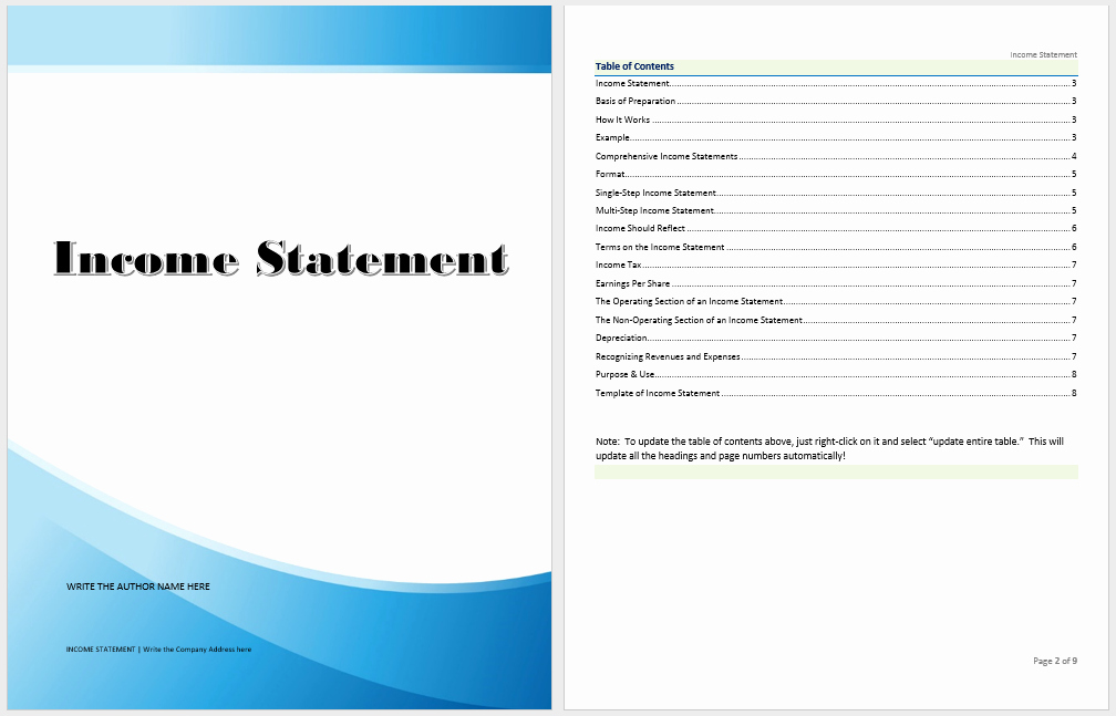 Statement Templates for Microsoft Word Luxury In E Statement Template Microsoft Word Templates