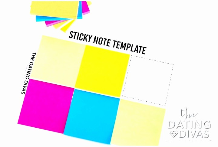 Sticky Note Template for Word Awesome 12 Printable Sticky Notes Template Iaauw