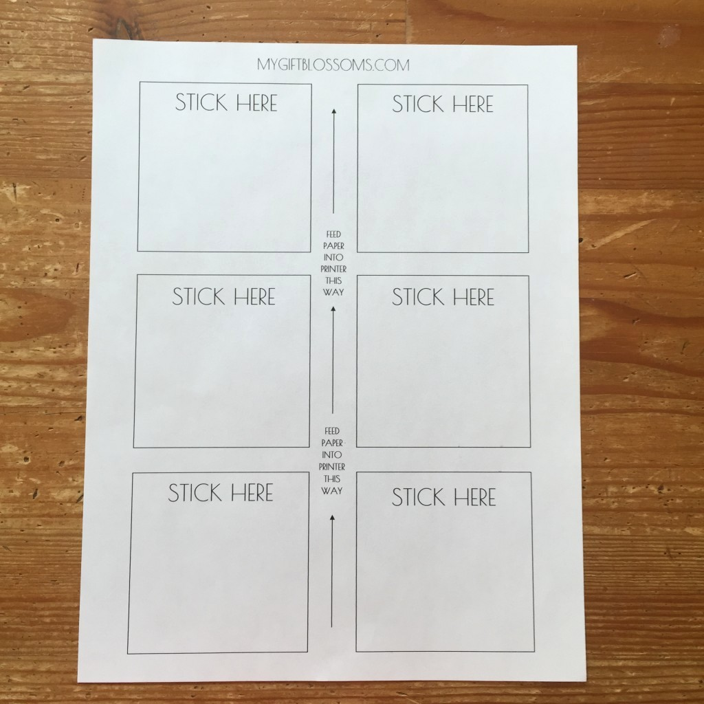 Sticky Note Template for Word Awesome Diy Tutorial How to Print Inspirational Quotes On Post It