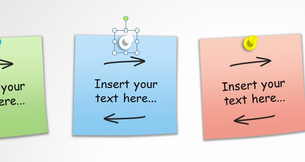 Sticky Note Template for Word Beautiful Post It Note Template Editable Sticky Note Pin Templates