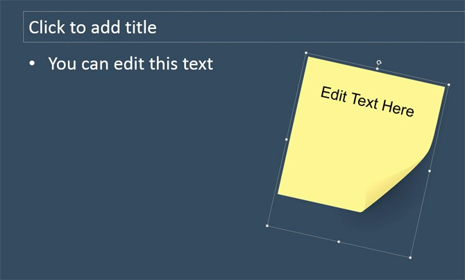 Sticky Note Template for Word Best Of How to Add Custom Sticky Notes to Powerpoint Presentations
