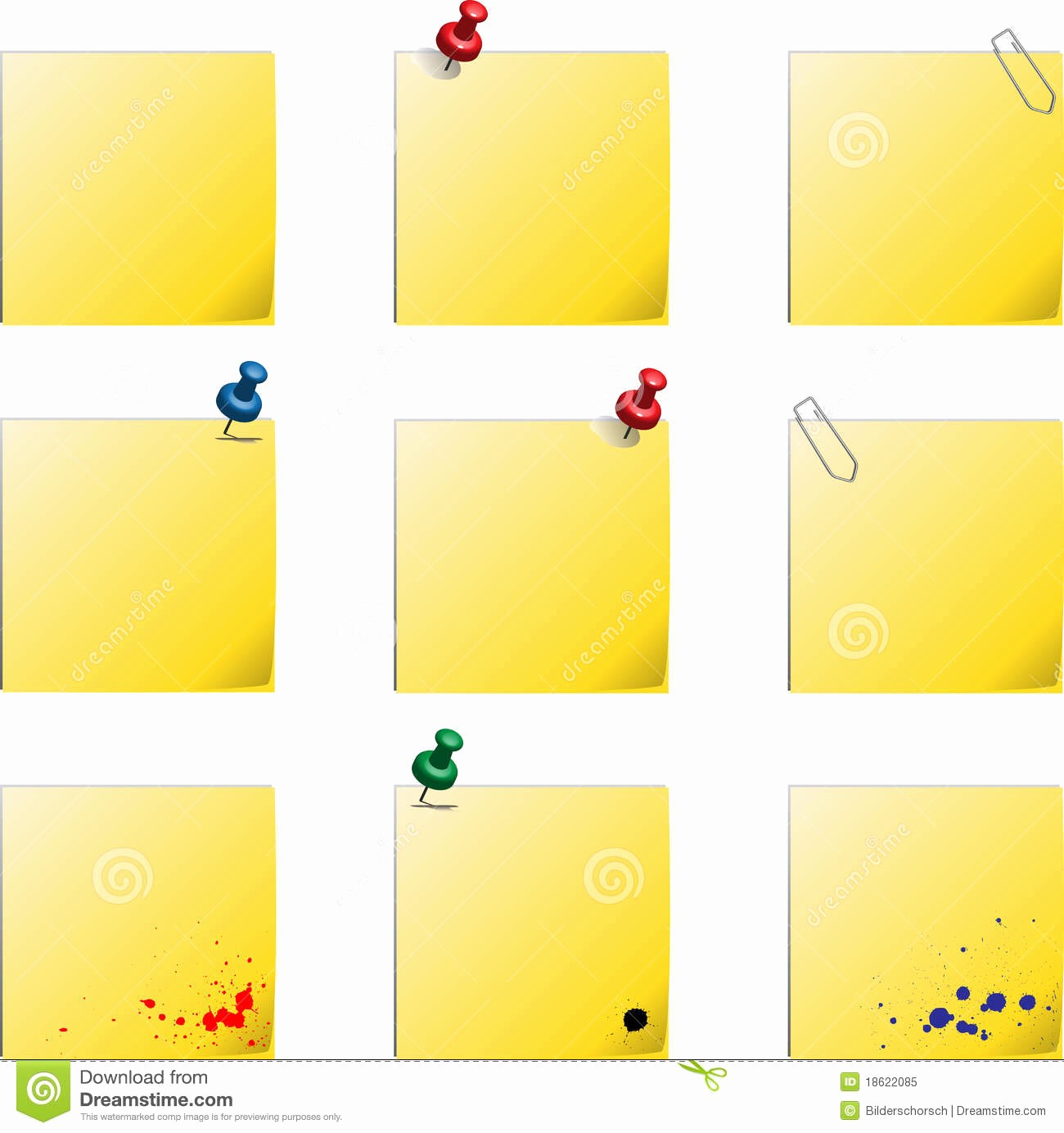 Sticky Note Template for Word Best Of Post It Templates Stock Vector Illustration Of Background
