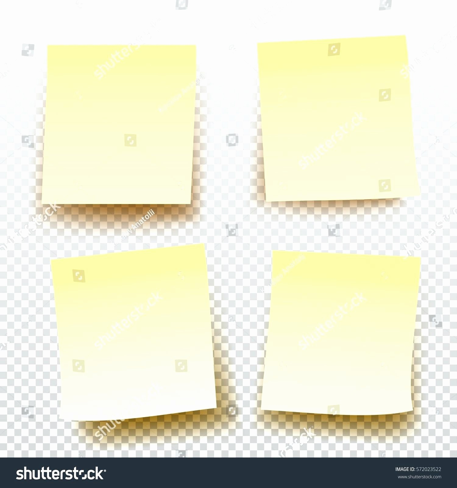 Sticky Note Template for Word Best Of Template Sticky Note Printing Template