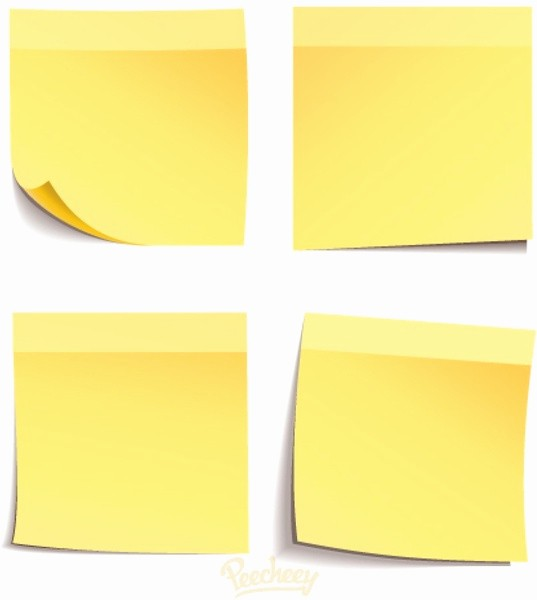 Sticky Note Template for Word Fresh Post It Note Template Editable Sticky Note Pin Templates