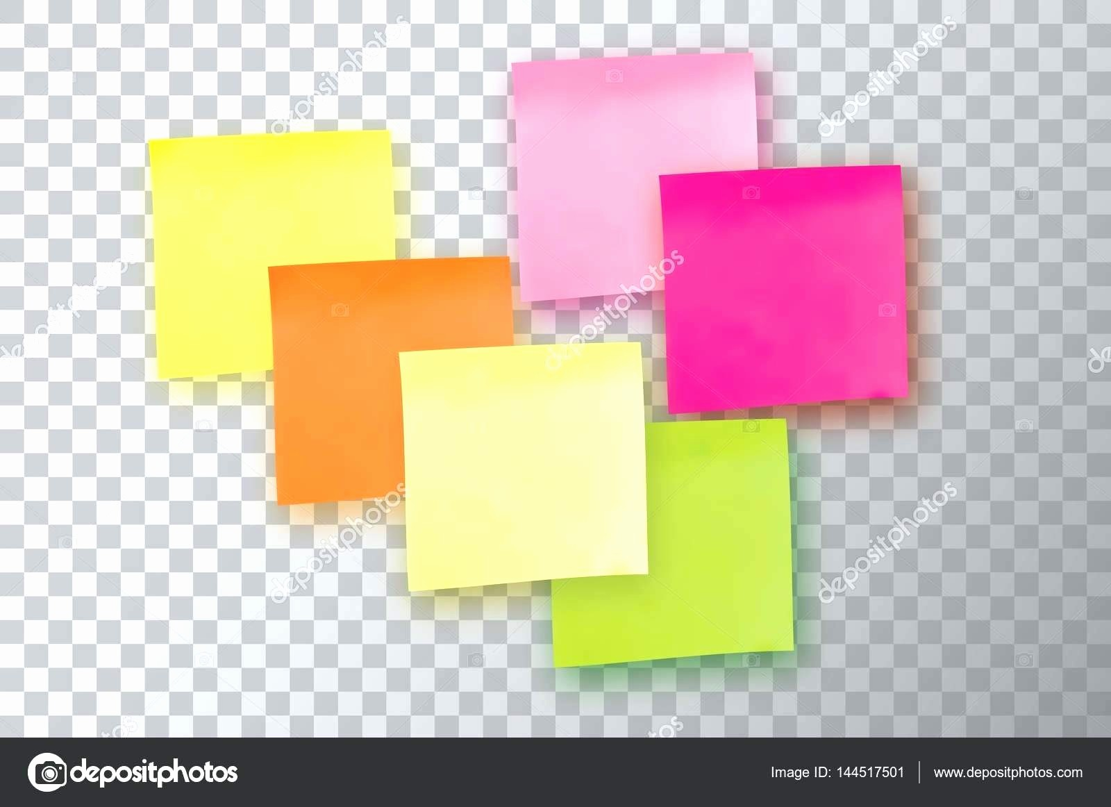 Sticky Note Template for Word Fresh Template Sticky Note Template