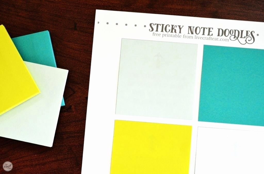Sticky Note Template for Word Luxury Sticky Notes Note Template In Word