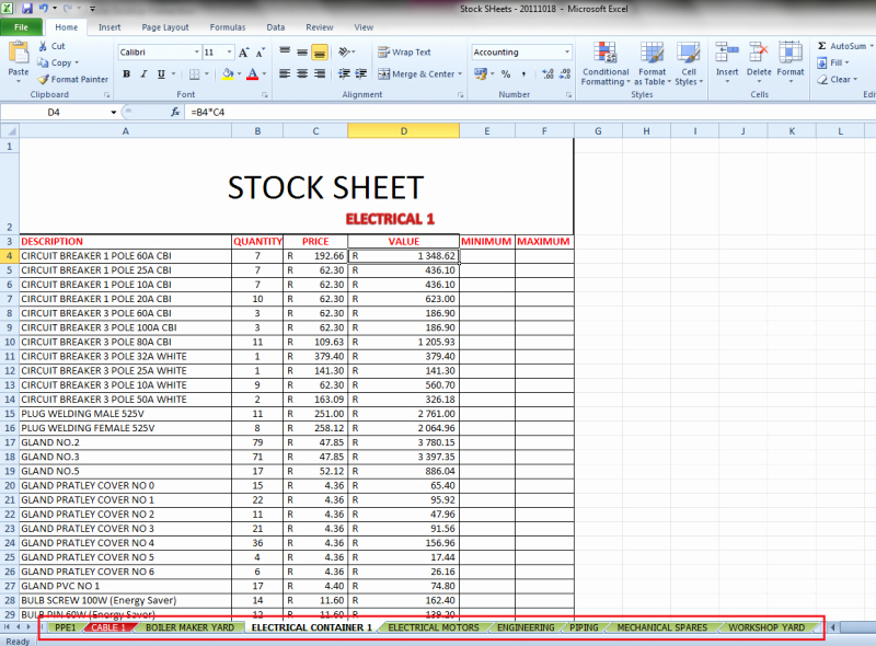 Stock Management In Excel Sheet Best Of Microsoft Excel Vs Microsoft Dynamics Ax Stock Management