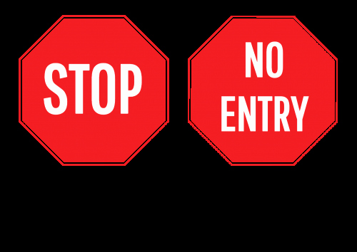 Stop Sign Template Microsoft Word Beautiful Create & order No Entry Sign Line In Australia Create