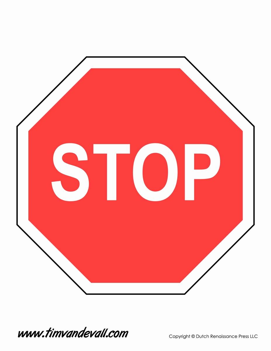 Stop Sign Template Microsoft Word Beautiful Stop Sign Template Tim Van De Vall