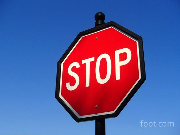 Stop Sign Template Microsoft Word Best Of Free Stop Sign Image for Powerpoint Presentations