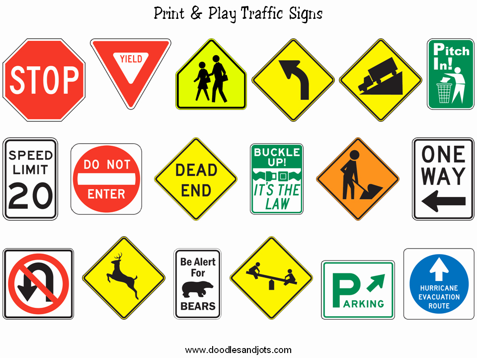 Stop Sign Template Microsoft Word Elegant 6 Best Of Printable Road Signs and Symbols