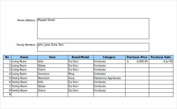 Store Inventory format In Excel Lovely 20 Inventory form Templates – Free Sample Example
