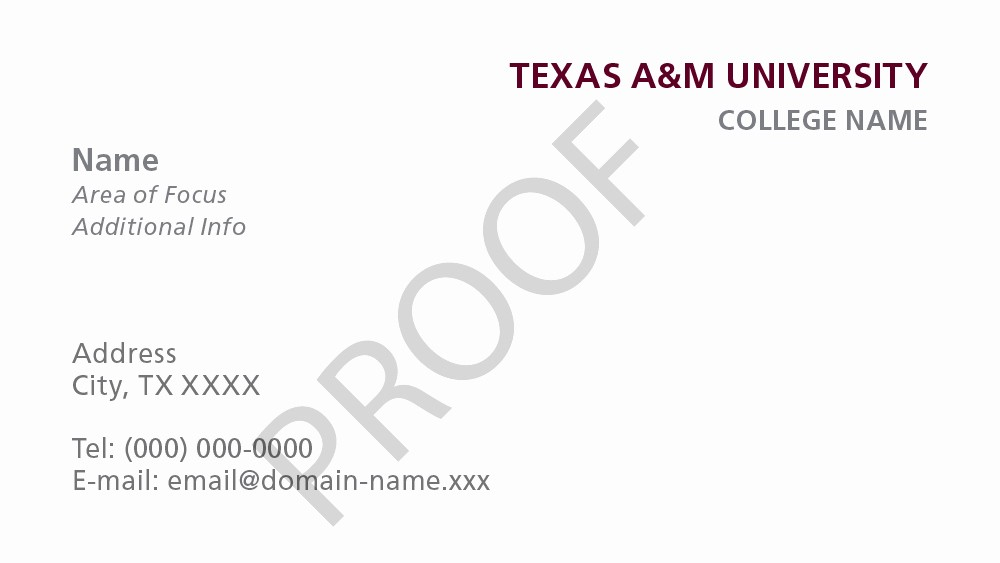 Student Business Cards Templates Free Awesome Stationery Templates University Brand Guide