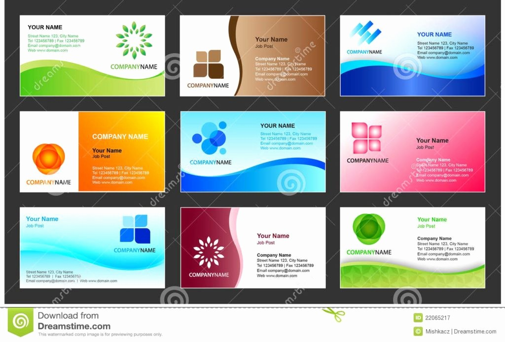 Student Business Cards Templates Free Best Of Business Visiting Card Design Sample