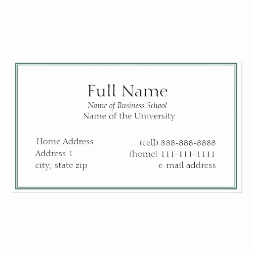 Student Business Cards Templates Free Elegant Student Business Cards 5 000 Student Busines Card