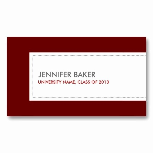 Student Business Cards Templates Free Lovely Best 21 Business Cards for College and University Students