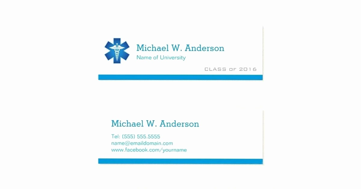 Student Business Cards Templates Free Luxury Graduation Name Card Template Full Size Cards as Well