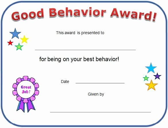 Student Certificate Template Google Docs Beautiful Free Printable Awards for Students Certificates Kids