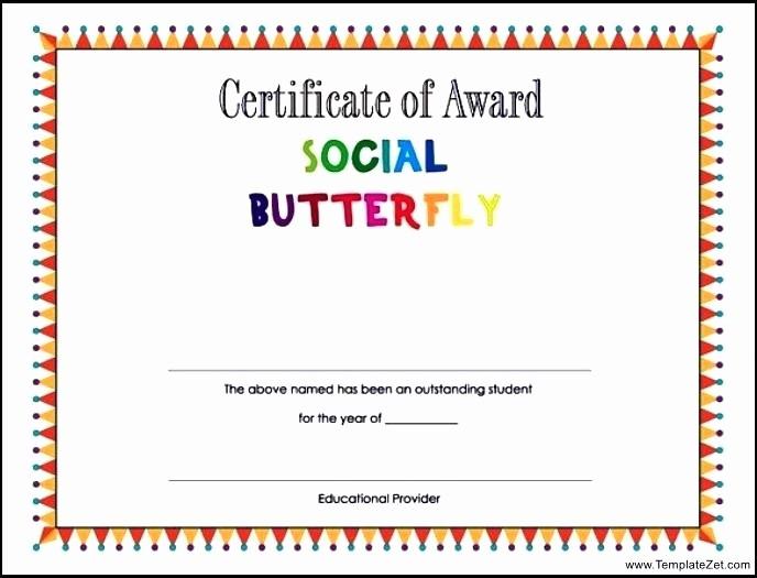 Student Certificate Template Google Docs Elegant Printable Certificate Template A Graduation Award Student