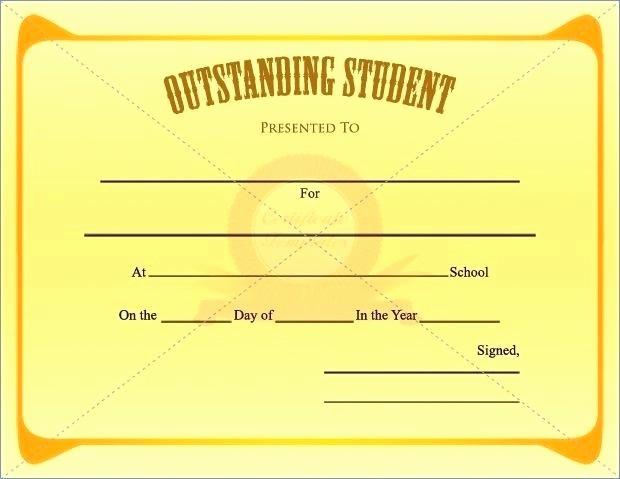 Student Certificate Template Google Docs Fresh 9 Scholarship Certificate Templates Free Word format
