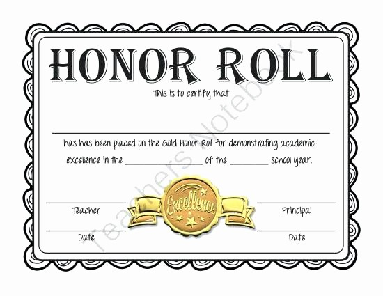 Student Certificate Template Google Docs Lovely Award Honor Teacher Student Template Word Best