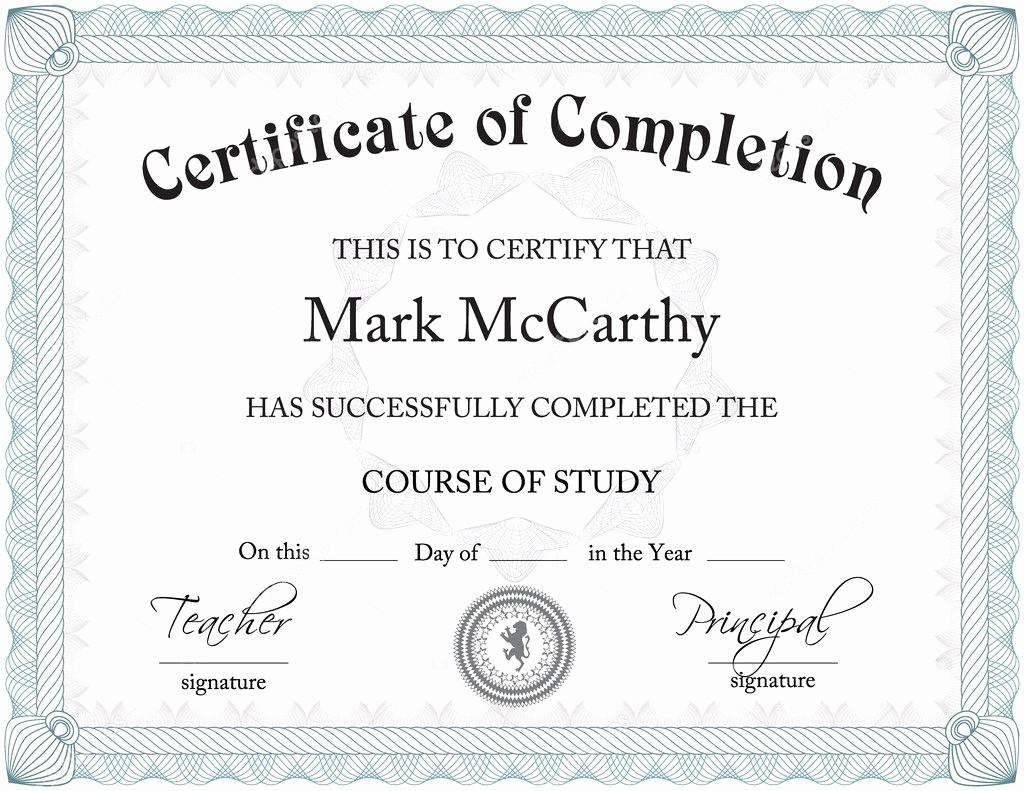 Student Certificate Template Google Docs New Certificate — Stock Vector © Zarja