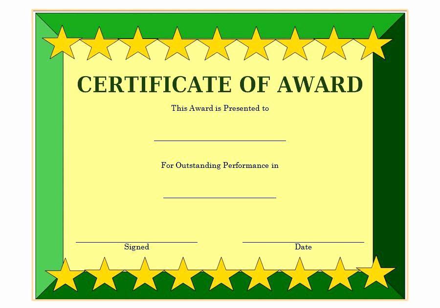 Student Certificate Template Google Docs Unique 9 Scholarship Certificate Templates Free Word format