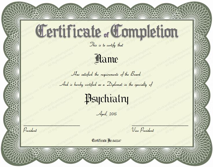 Student Council Award Certificate Template Elegant 15 formal Certificate Templates
