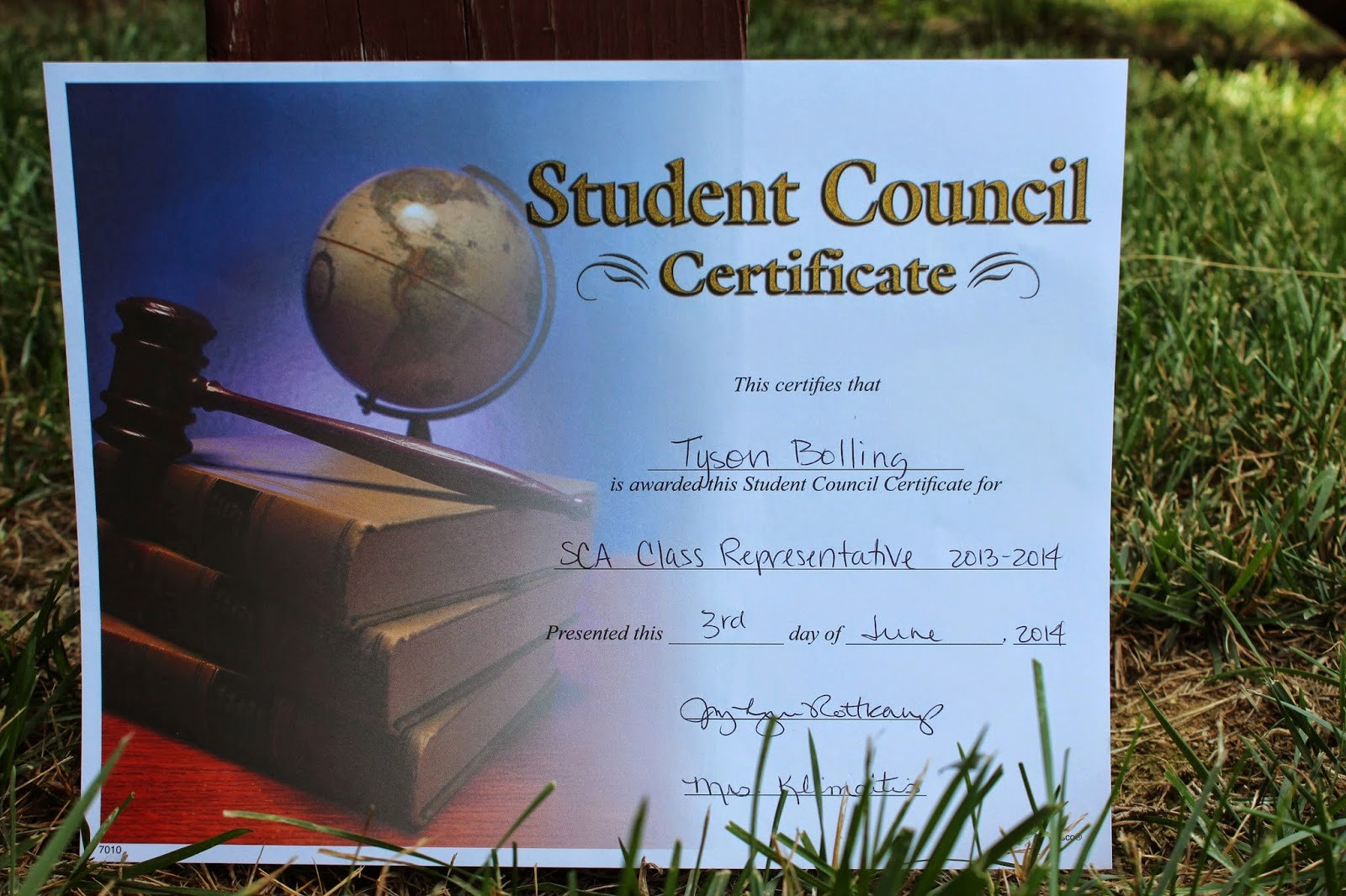 Student Council Award Certificate Template Lovely Student Council Award Certificates Christopherbathum
