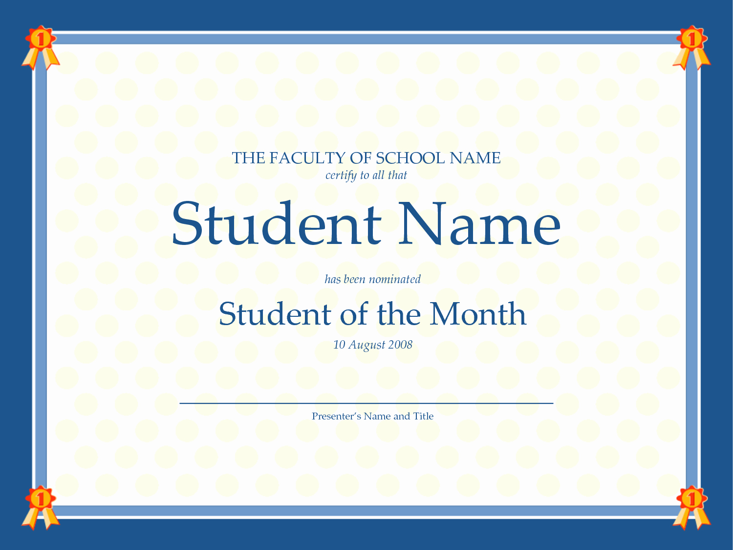 Student Council Certificate Template Free Beautiful 6 Best Of Student Council Certificates Printable