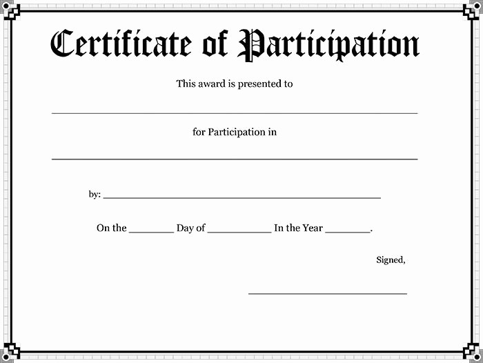 Student Council Certificate Template Free Best Of 30 Free Printable Certificate Templates to Download