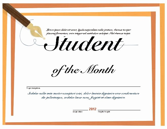 Student Council Certificate Template Free Best Of Editable Student Council Certificate Template Student