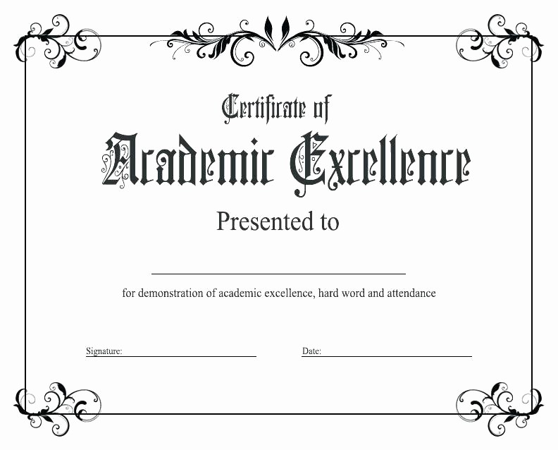 Student Council Certificate Template Free Fresh Awards Template Word Student Council Award Certificate