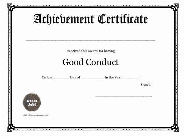 Student Council Certificate Template Free Inspirational Free Printable Certificate Templates Free Templates
