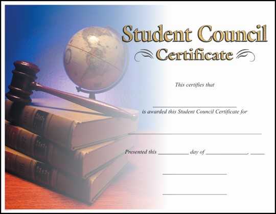 Student Council Certificate Template Free Unique Rising Stars Line Catalog Certificates