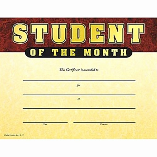 Student Of the Day Certificate Fresh 17 Best Images About Student Of the Month On Pinterest