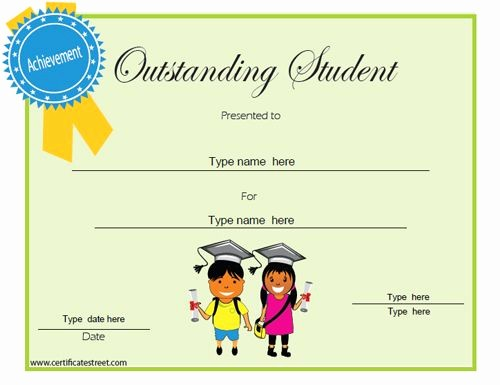 Student Of the Day Certificate Fresh Education Certificates