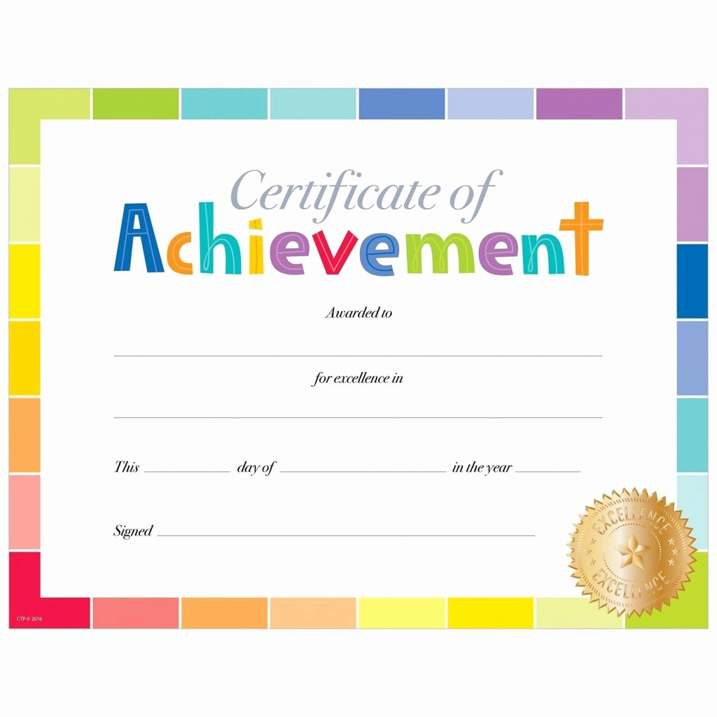 Student Of the Day Certificate Unique Award Certificate Template Primary School New Prin Award