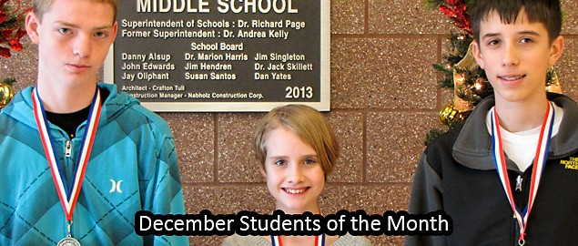 Student Of the Month Banner Beautiful Gravette Middle School