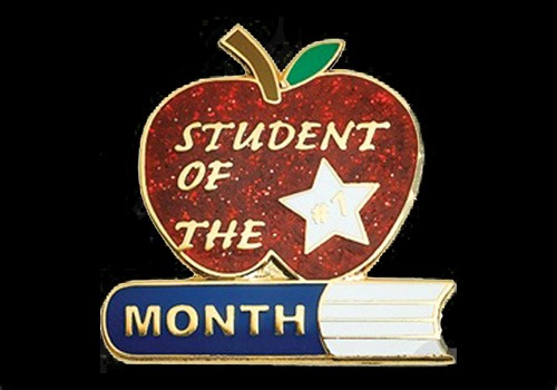 Student Of the Month Banner New Old Student Life Littlefork Big Falls isd 362