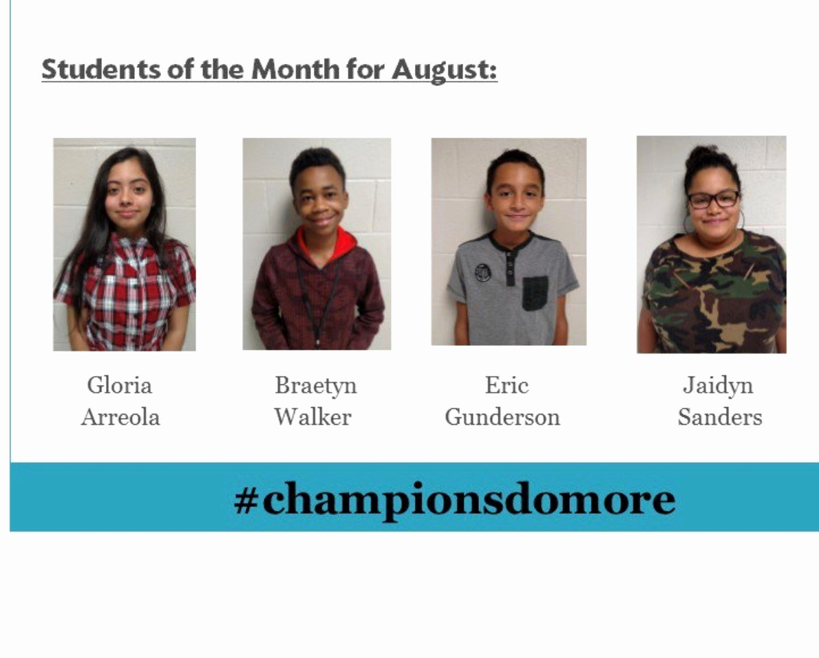 Student Of the Month Banner Unique Home Bon Air Middle School Technology Academy