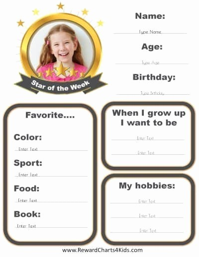 Student Of the Week Posters Awesome Free Custom Star Of the Week Poster Customize Line