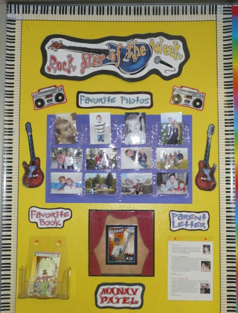 Student Of the Week Posters Beautiful Pixie Chicks Classroom theme Thursday Rock & A Freebie