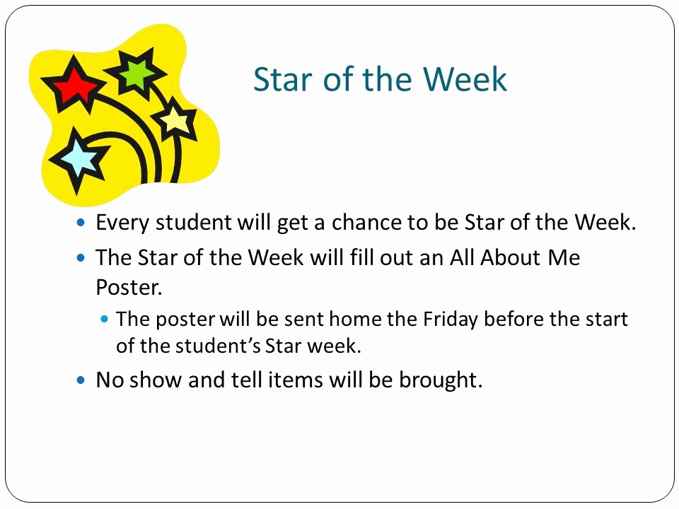 Student Of the Week Posters Fresh Keys to Success In 2nd Grade Ppt Video Online