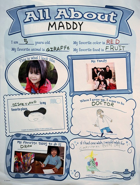 Student Of the Week Posters New Student Of the Week Poster Age 5